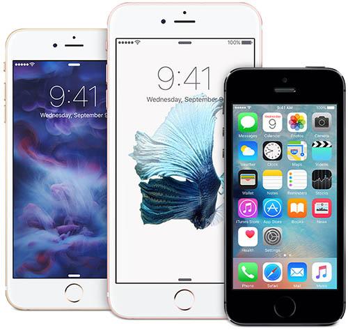 iPhone-trio