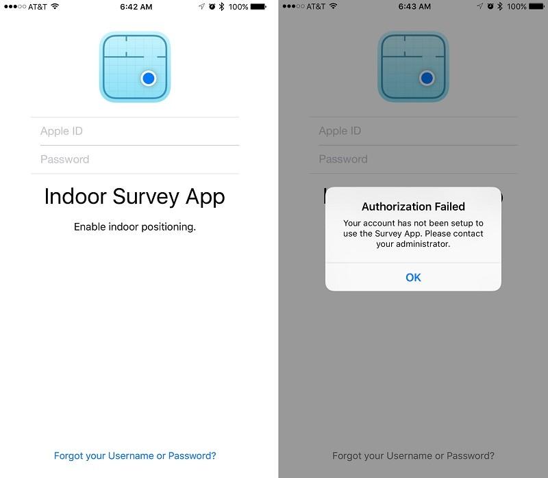 indoor survey app