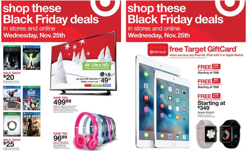target s black friday early access sale now live with discounts on