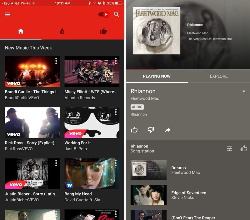 YouTube Launches New YouTube Music Service and iOS App - MacRumors