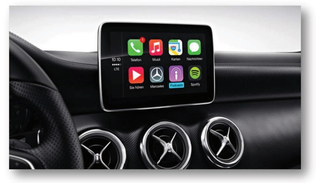 Mercedes-Benz Shares Full Lineup of 2016 U S  CarPlay