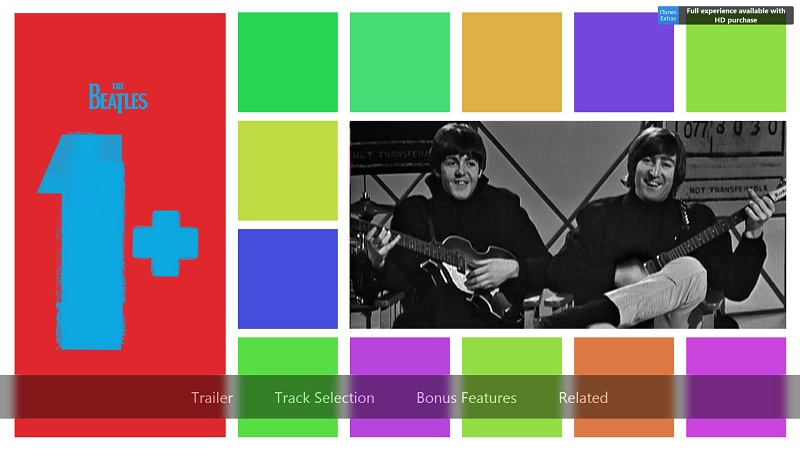 The Beatles 1+ collection