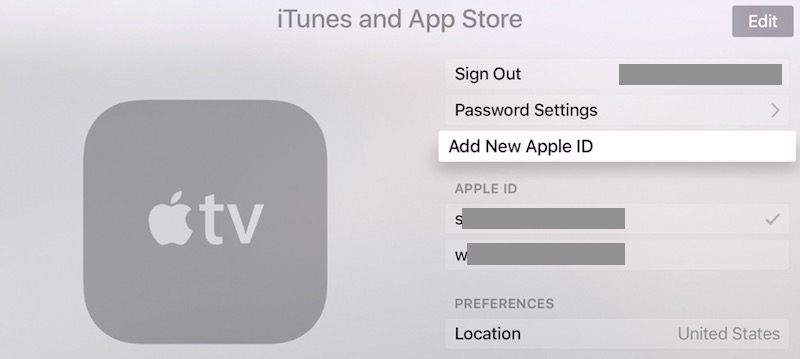 Apple tv connect to icloud