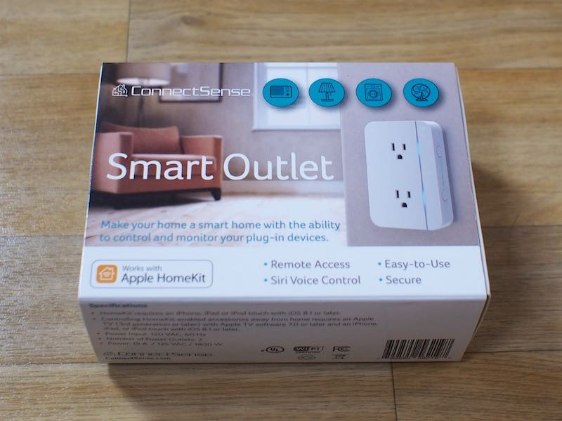 ConnectSense Review: The Smart Outlet Offers Two HomeKit-Enabled ...