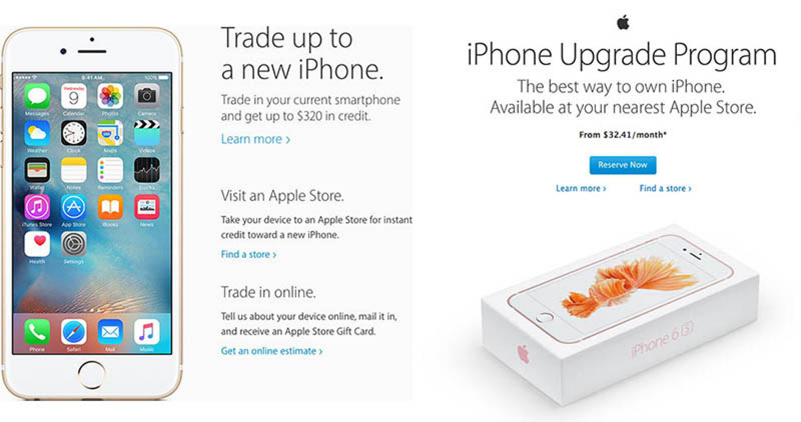 apple trade in iphone apple pushing iphone upgrades during shopping 13495