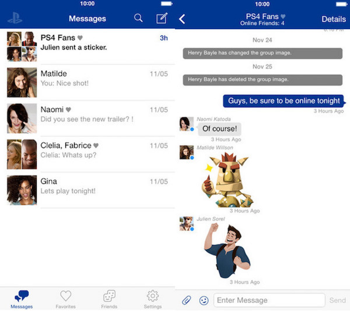 Sony Launches 'PlayStation Messages' App for iOS - MacRumors
