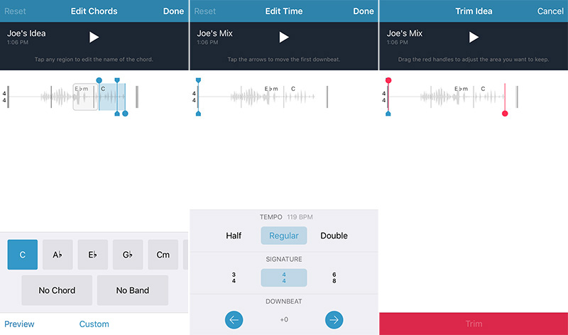 Music Memos for iOS: Recording, Editing, Tuning, Exporting and More