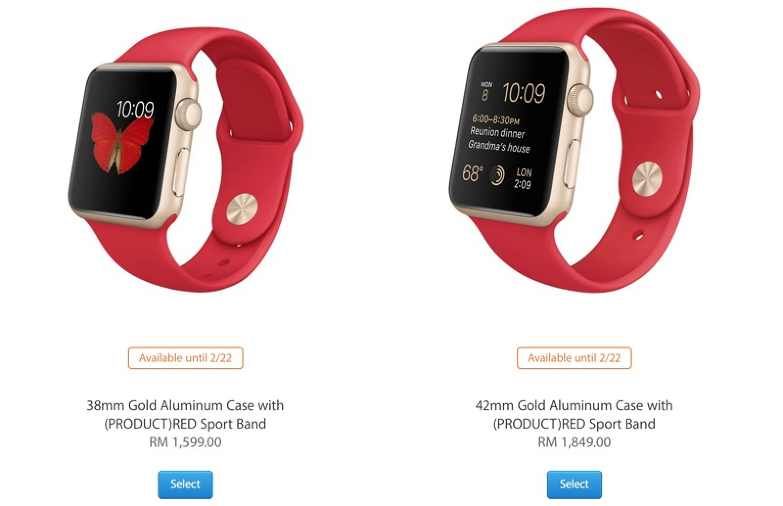 no sale tax bafe0 6b739 Apple Watch Launches in Malaysia, Coming to Portugal, Hungary and ...