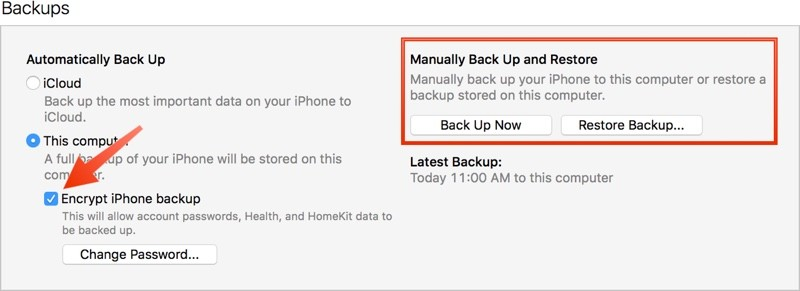 How To Create An Archived Itunes Backup Mac Rumors