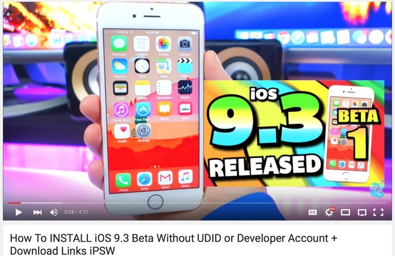 How to Download the iOS 9 3 Beta to Your iPhone or iPad - MacRumors