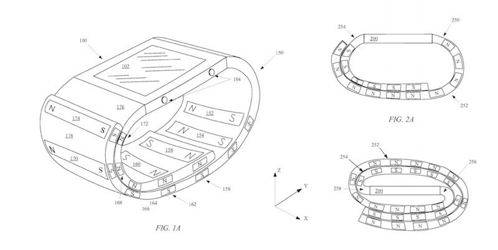 Apple Watch 'Magnetic Wristband' Patent Could Double as