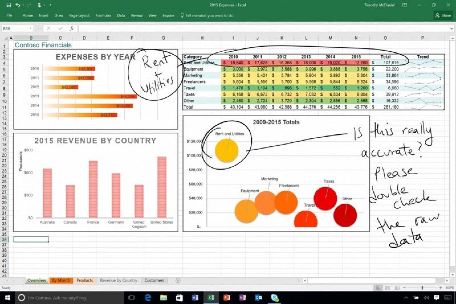 Microsoft Office Update Brings Drawing Tools For Ipad 3d