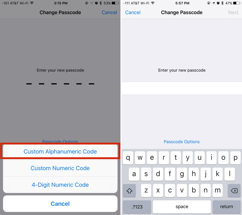 How to Create a More Secure Passcode on Your iPhone or iPad