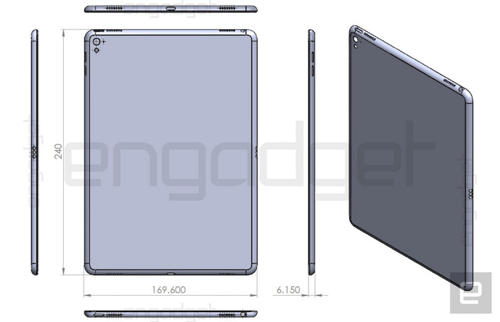 Another ipad air 3 design drawing points to smart connector another ipad air 3 design drawing points to smart connector similar dimensions as ipad air 2 mac rumors malvernweather Gallery