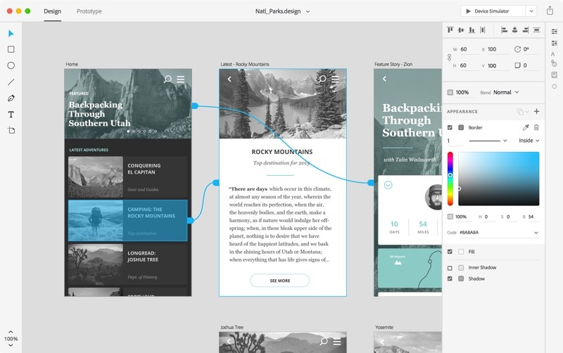 Adobe Announces New 'Adobe XD' Creative Cloud App for End-to-End ...