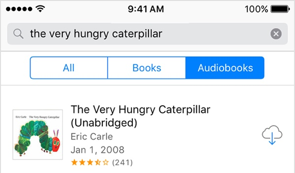 Audiobooks Purchased From Apple Can Now Be Re-Downloaded