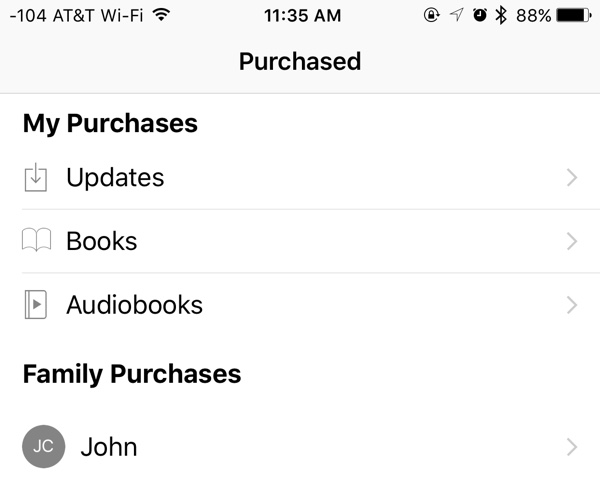 how to delete purchased books from ibooks