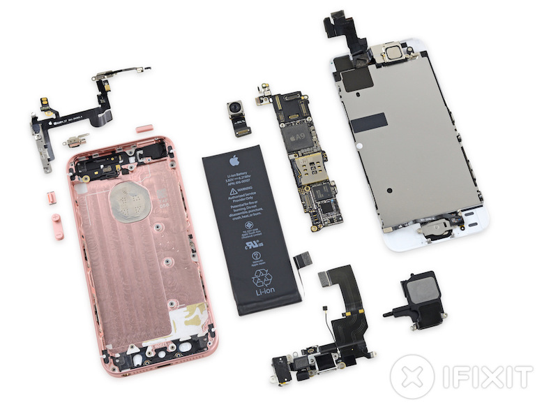 54dc6f5b7fa76b Teardown Finds iPhone SE and iPhone 5s Displays Interchangeable ...