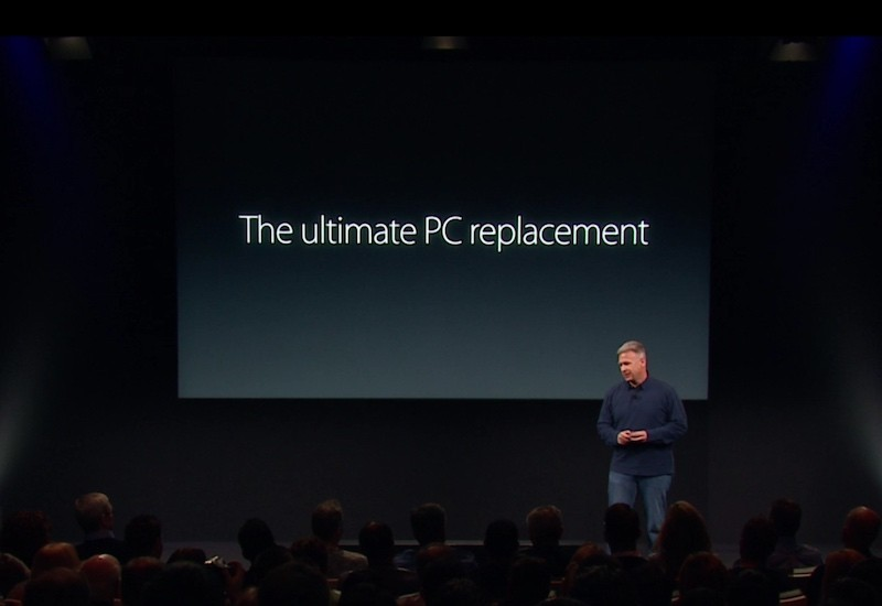 iPad Pro PC replacement media event