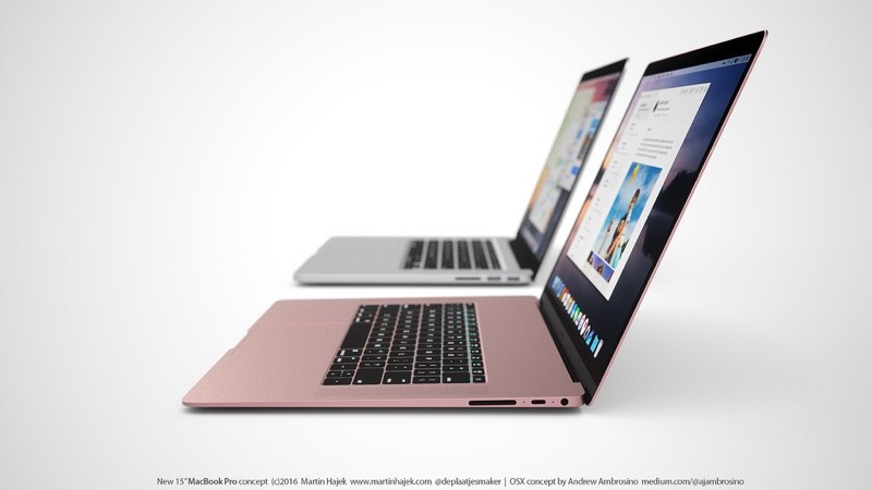 Concept imagines what a thinner 15 inch retina macbook pro for New apple book