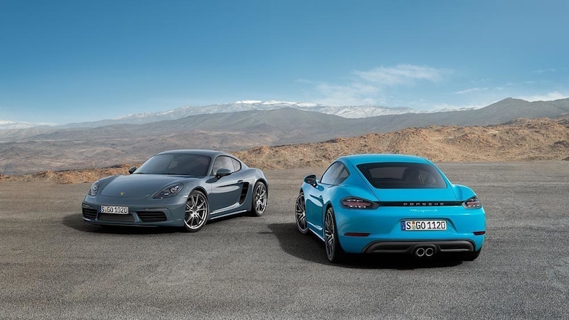 Porsche Debuts New 718 Cayman Sports Coupes With Carplay Support