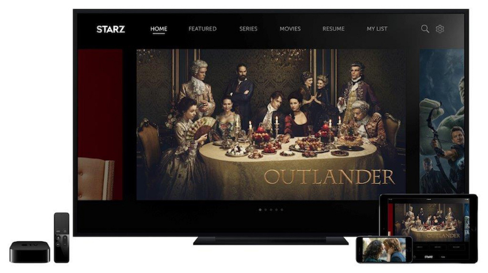 Starz Launches On Ios And Apple Tv As Standalone Streaming Service For  $899 Per Month  Mac Rumors