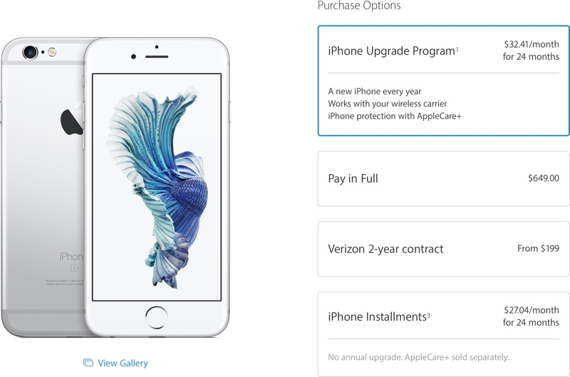 15582dbff Apple s Upgrade Program Now Available for iPhones Purchased Through ...