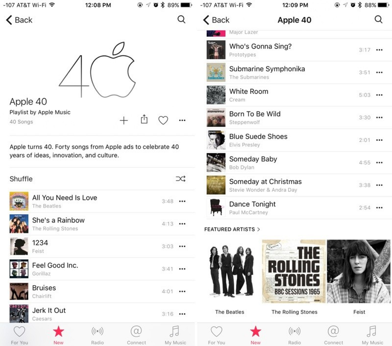 Apple Celebrates 40th Anniversary With Apple Music