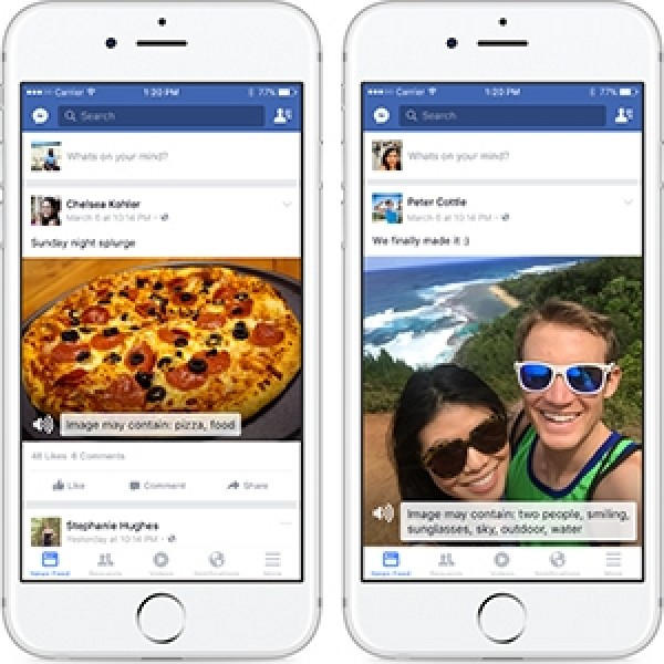 facebook app for iphone ios app gets voiceover feature to help blind 14061