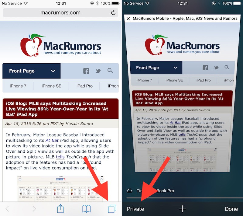 Protecting Your Privacy in Safari for iOS - MacRumors