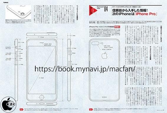 iPhone 7 Plus Design Drawings Depict Dimensions Identical ...