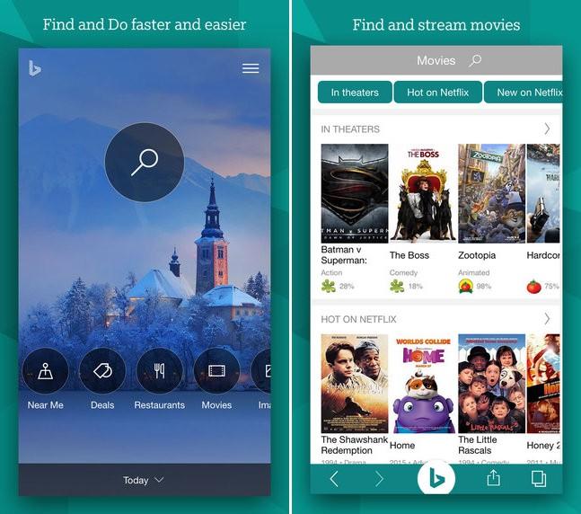Bing for iOS