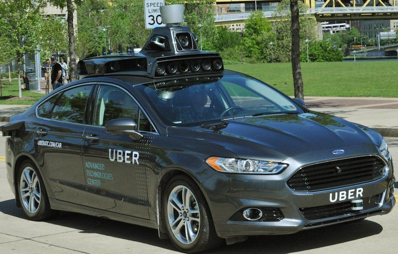 Uber driverless