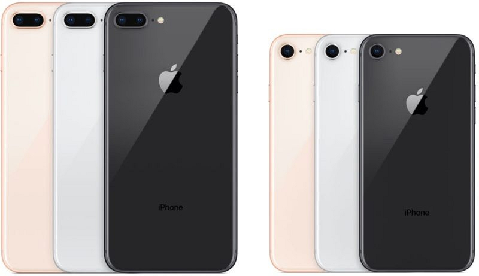 Everything On the iPhone 8 and iPhone 8 Plus. All variant ...