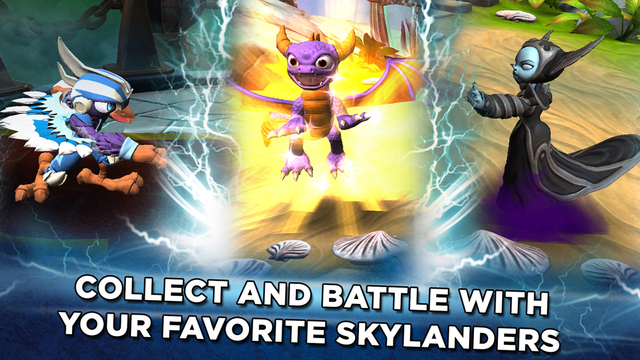 Toys To Life Franchise Gets Ios Card Game With Skylanders Battlecast