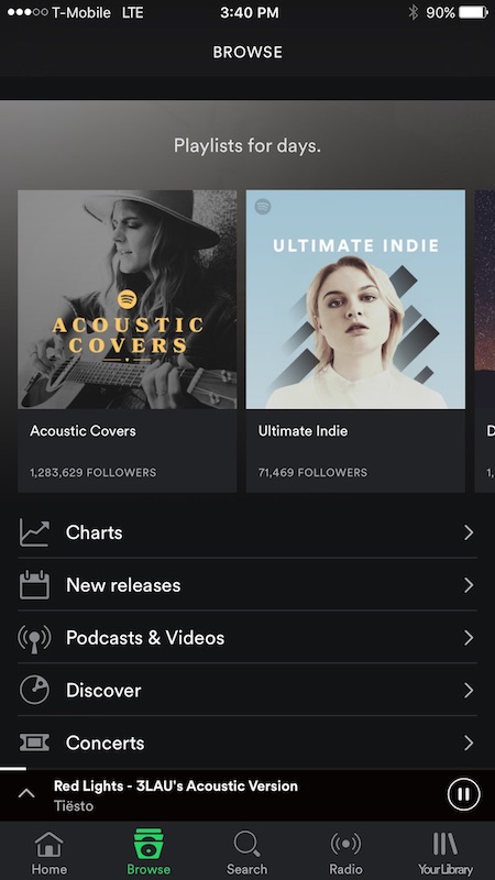 spotify nav bar 3