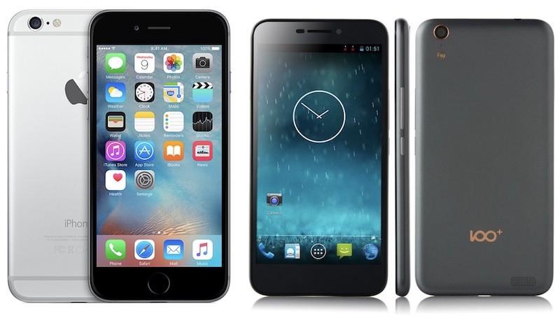 100c iphone 6 comparison