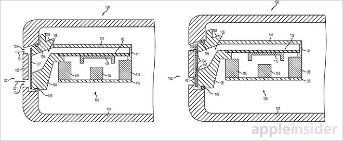 Apple Patents Water-Resistant Speaker Port and Bone