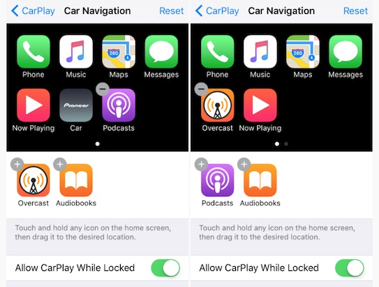 CarPlay-apps-removed