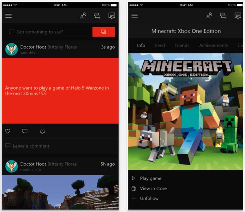 Microsoft Refreshes iOS 'Xbox' App Ahead of E3 Press