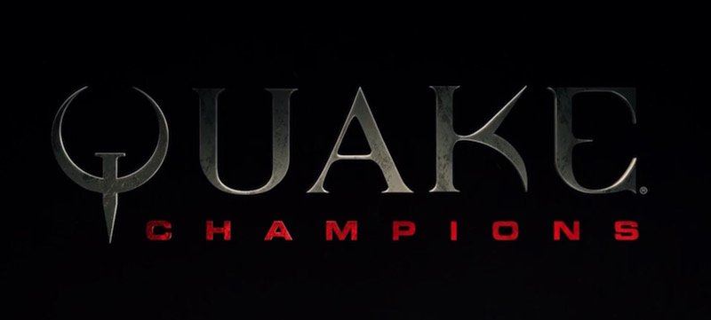 Bethesda and id Software Announce 'Quake Champions' at E3