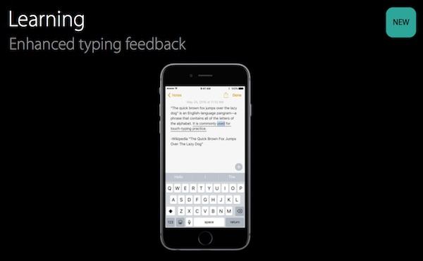 Typing-feedback-iOS