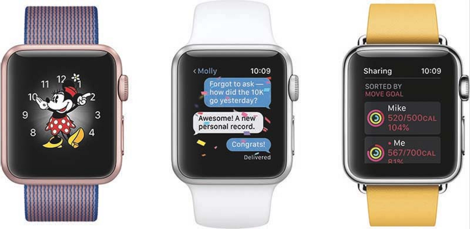 Apple Announces watchOS 3 With Dock, Control Center, New ...