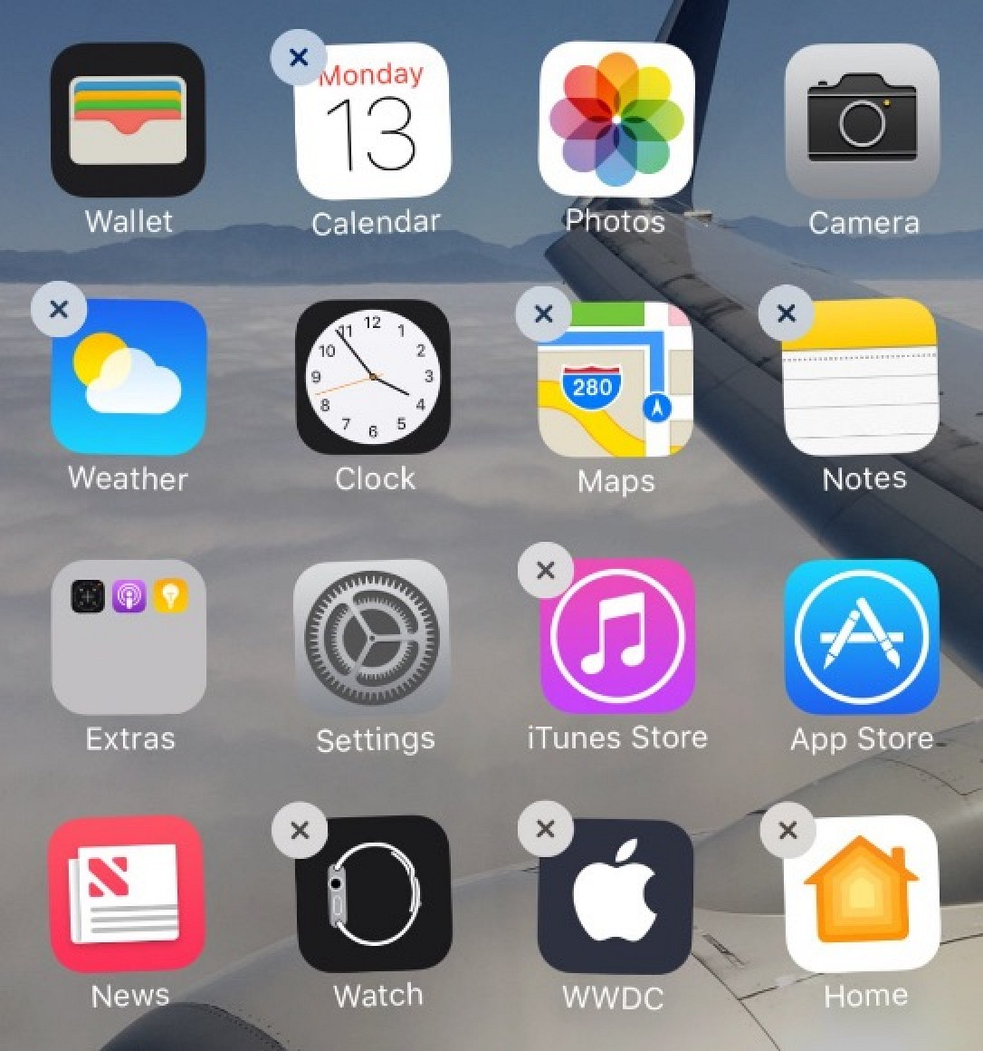 Ios 10 tidbits hide stock apps use two safari windows on ipad ios 10 tidbits hide stock apps use two safari windows on ipad access voicemail transcription and more mac rumors ccuart Gallery