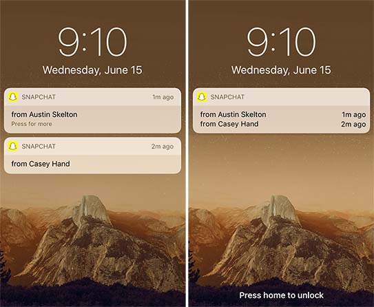 how to lock snapchat messages