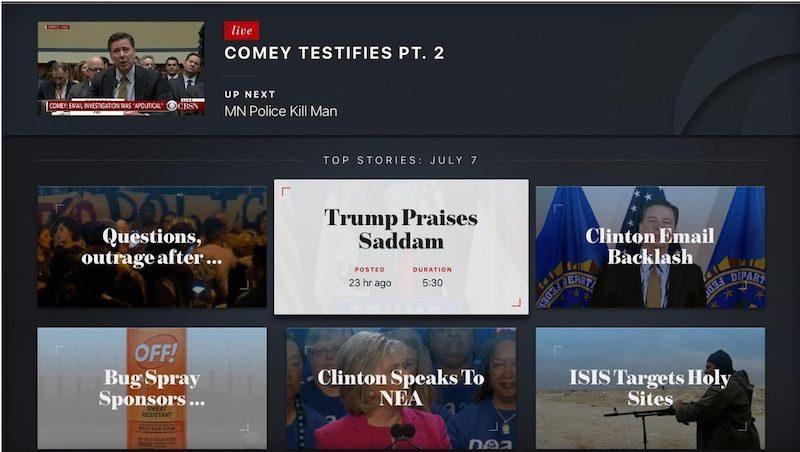 CBSN apple tv