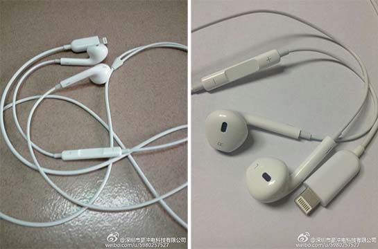 how to turn off headphones on iphone 5 more photos show alleged lightning earpods for iphone 7129