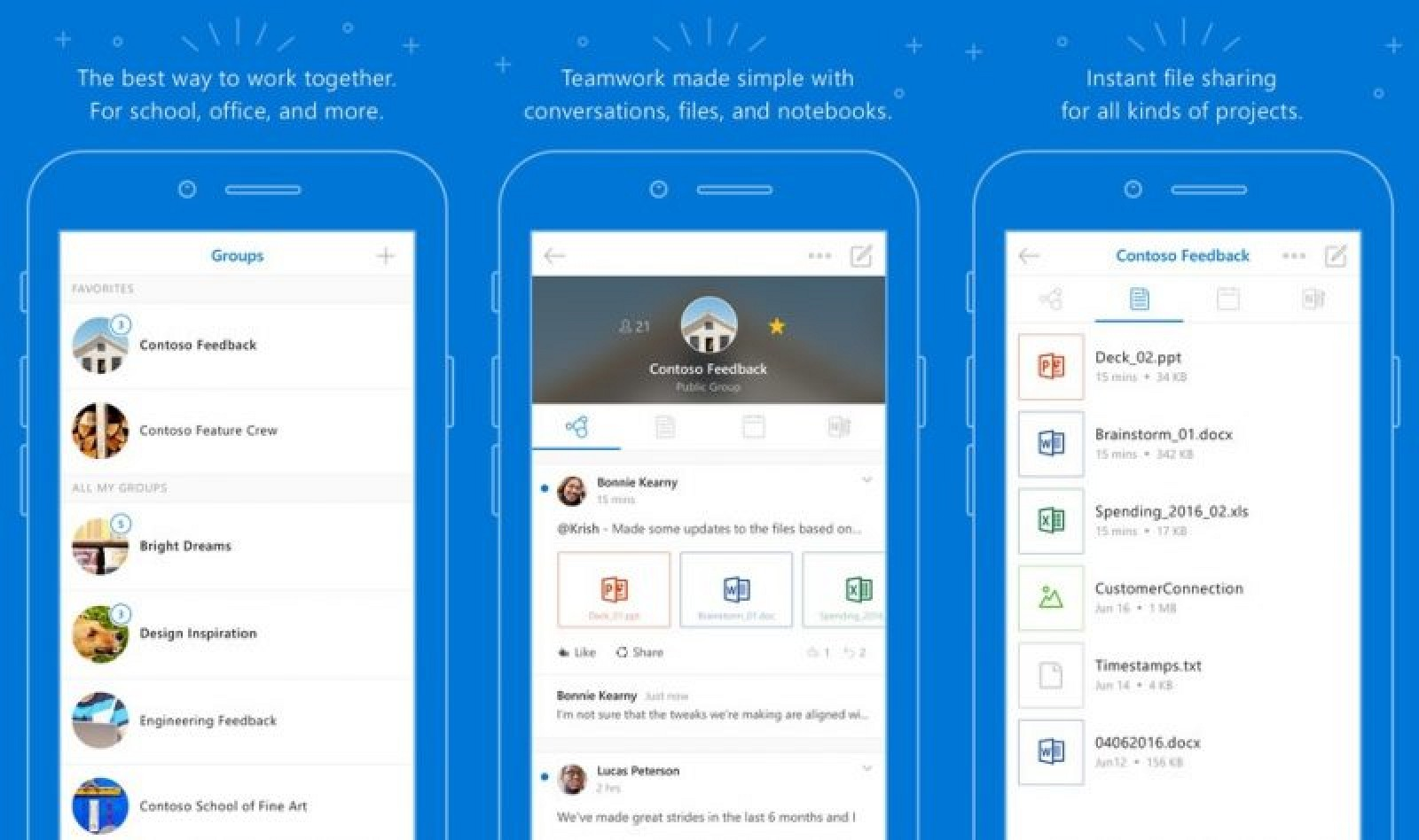 Microsoft Overhauls 'Outlook Groups' iOS app for Office ...