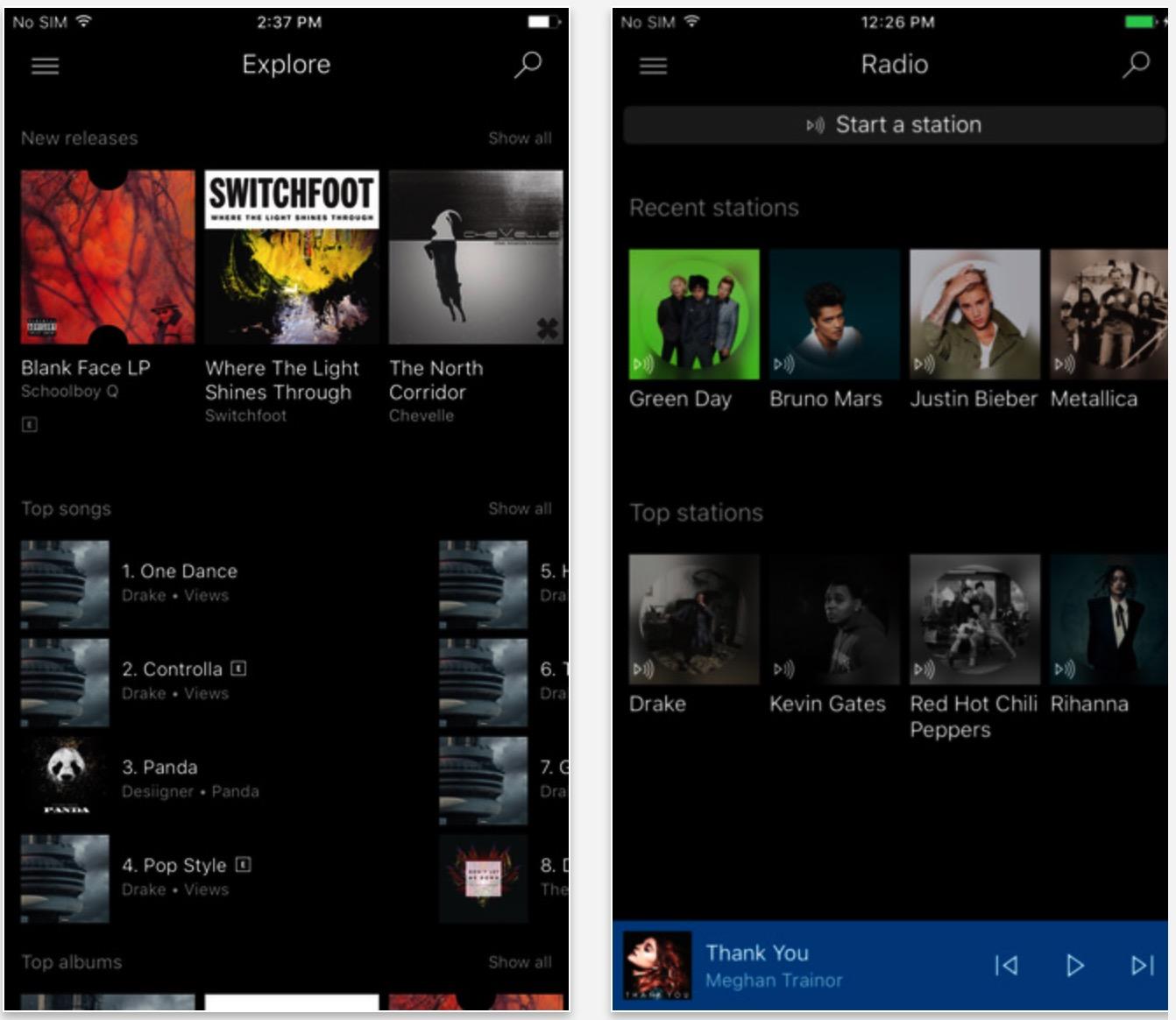 Microsoft Overhauls 'Groove' Music Streaming App for iOS - MacRumors