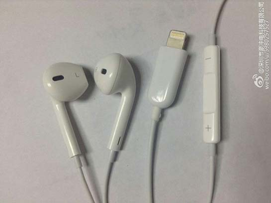 More Photos Show Off Alleged Lightning EarPods for iPhone 7  Update ... 28179a4e593f6
